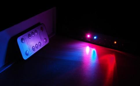 LEDライトの明るさ