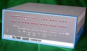 世界初の「パソコン」 Altair 8800