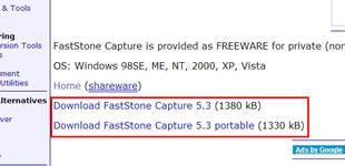 A+ Freewareのダウンロードリンク