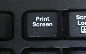PrintScreen キー