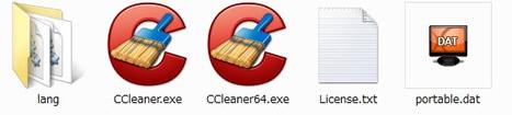 ポータブル版CCleaner